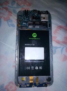 Placa Mãe Do Celular Phonemax Q5 Com O Botão Quebrado