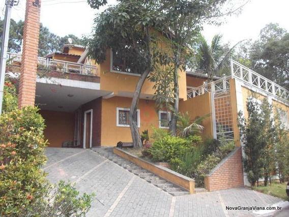 Casa Com 4 Dormitórios À Venda, 340 M² Por R$ 1.200.000 - São Fernando Residência - Barueri/sp - Ca0449