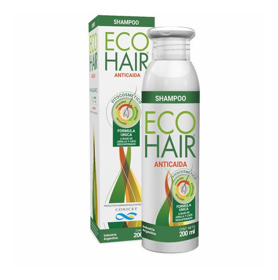 Eco Hair Caida Del Cabello Shampoo De 200 Ml