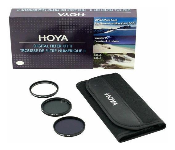 Kit 3 Filtros 72mm Hoya