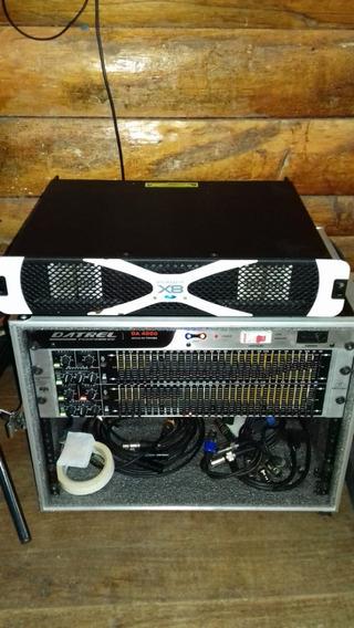 Amplificador Potencia Studio R X8