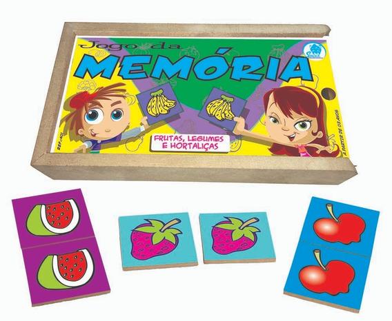 Jogo Da Memória Infantil Frutas, Legumes E Hortaliças