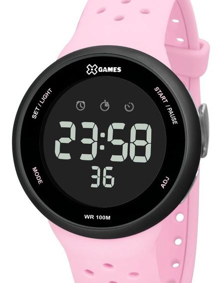 Relógio X-games Feminino Digital Rosa Xfppd060 Pxrx