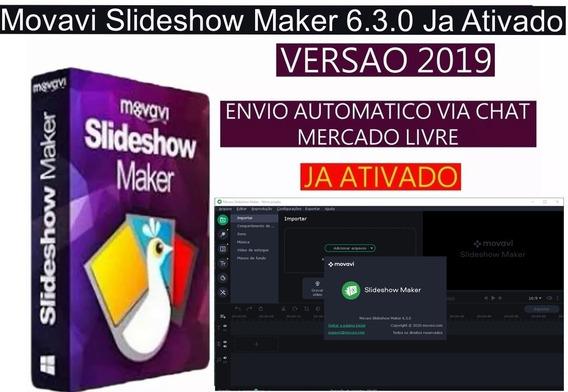 Movavi Slideshow Maker 6.3.0 Em Português /envio Imediato