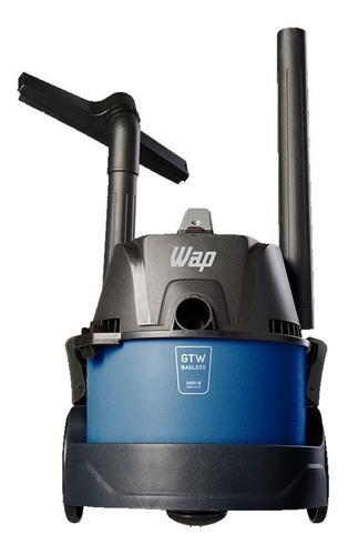 Aspirador de pó Wap GTW Bagless 6L azul e preto 127V