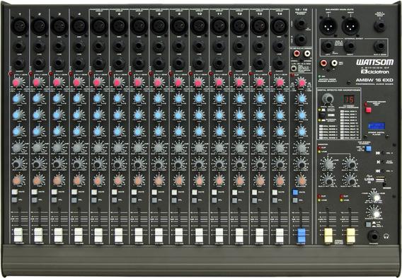 Mesa De Som Ciclotron Ambw16 Xdf Com Efeitos E Phantom Power