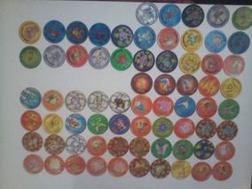Coleção Completa Tazos Pokémon 70 Tazos