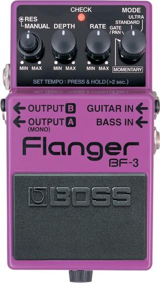Pedal Boss Bf 3 Flanger Bf3 Boss Bf-3 Para Guitarra
