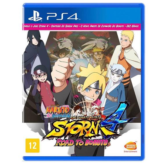Naruto: Ninja Storm 4 Road To Boruto - Ps4 - Mídia Física
