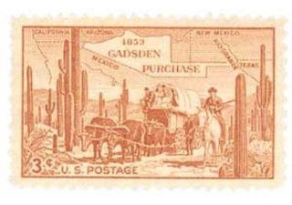 Us Sc #1028 - 1953 3c Gadsden Purchase Con Matasello.