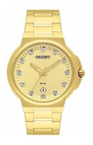 Relógio Orient Feminino - Fgss1129 C1kx Original Nf Gold
