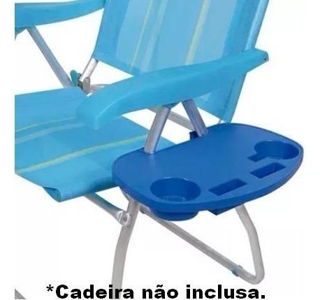 Mesa Portátil Para Cadeira De Praia Mor - Verão