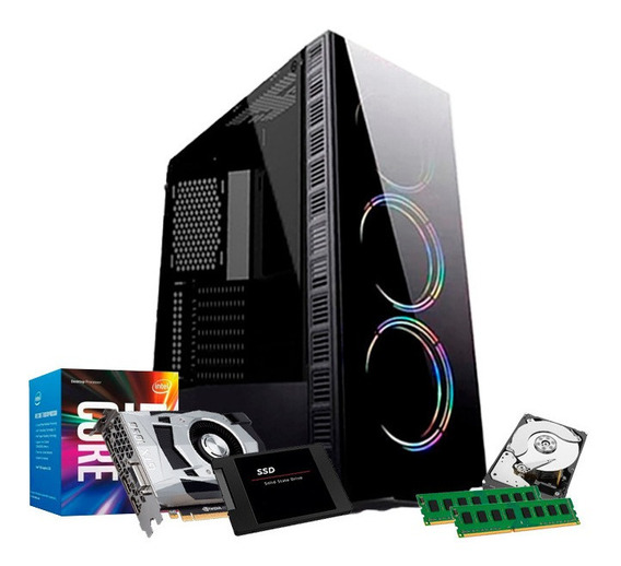 Pc Gamer I7 3770, 32gb, 1tb, Ssd 240gb, 4gb 1050 Gtx Ti + Nf
