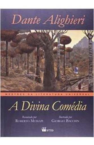 A Divina Comédia Coleção Mestres Da Literatura Universal