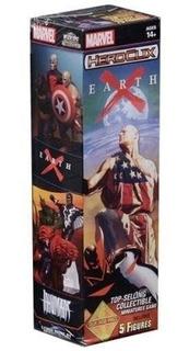 Marvel Heroclix Earth X Booster. X5 Figuras De Acción