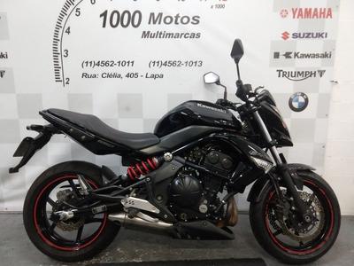 Kawasaki Er 6 N 2011 Otimo Estado Aceito Moto