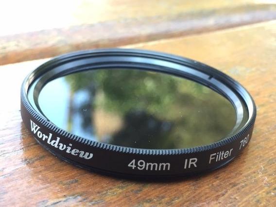 Filtro Ir - Infravermelho 760nm - Dslr - 49mm