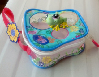Littlest Pet Shop Lps #479 Rana Con Mini Valija Usado 9kw8