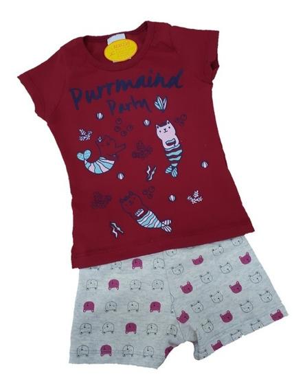 Pijama Verão Menina