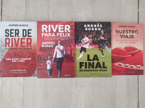 Combo Ser De River-la Final-nuestro Viaje-river Para Félix