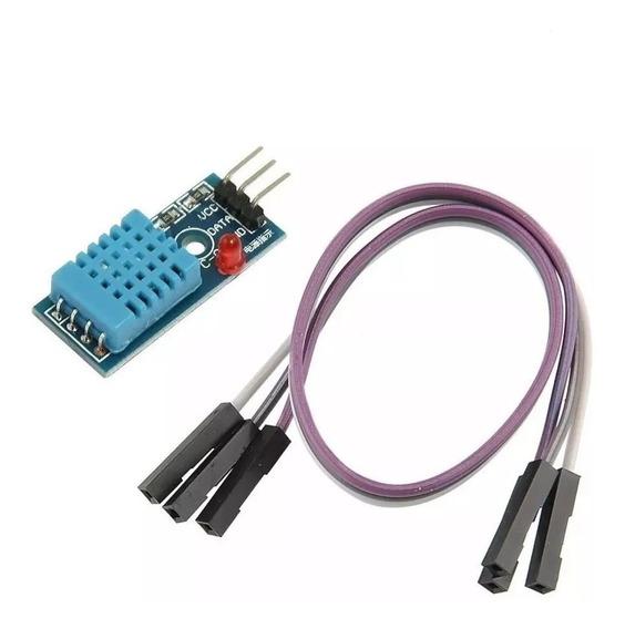Sensor De Umidade E Temperatura Dht11 Para Arduino E Rasp.pi
