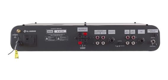 Amplificador Som Ambiente Receiver Sa2600 Óptica 180w Rms
