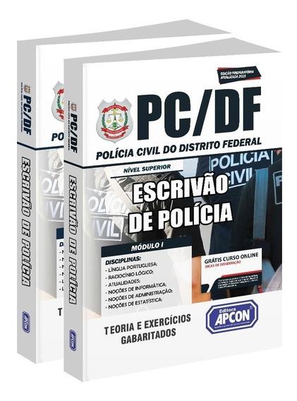 Apostila Pc-df - Escrivão De Polícia - 2019