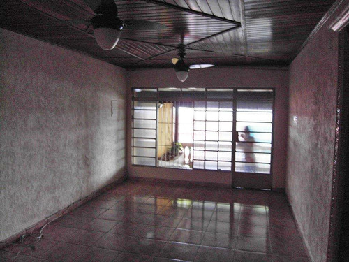 Imagem 1 de 14 de Terreno Com Duas Casas À Venda, Ótimo Para Investidor - Vila Aquilino - Santo André/sp - 43622