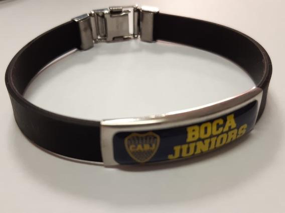 Pulsera De Caucho De Boca Juniors