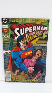 Comic Superman El Hombre De Acero No 11 Edic Especial Nueva