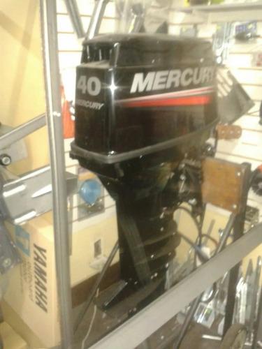 Mercury 40 Hp 2t Pata Larga  Electrico Dolar Billete