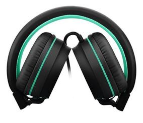 Headphone Fone Pulse On Ear Stereo Preto Ph159 Ph 159