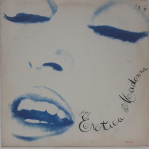 Lp - Madonna - Erotica 1992 - 2xlps,com Encartes,capa Dupla