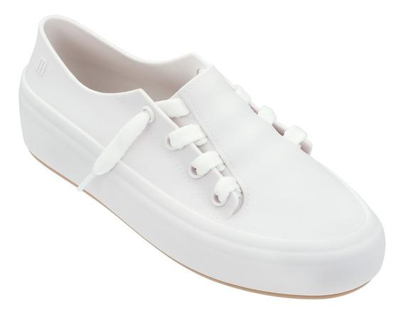 Tênis Melissa Ulitsa Sneaker Branca / Bege Original