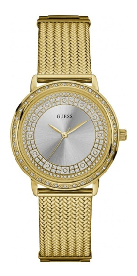 Relógio Feminino Guess 92288lpgdda7 Analógico Dourado