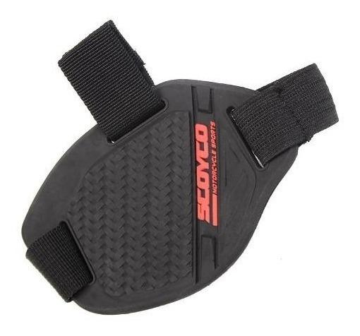 Protector De Calzado Scoyco Cubre Palanca Cambios Moto - Um