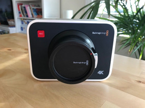 Blackmagic Câmera 4k - Bateria Não Segura Carga