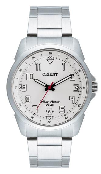 Relógio Orient Masculino Mbss1154a S2sx Aço Analogico Oferta