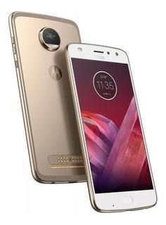 Smartphone Motorola Motoz2 Play 64gb Dual Dourado Mostruário