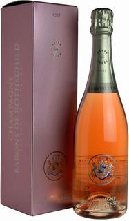Champagne Barons De Rothschild Rose 750ml - Estuche