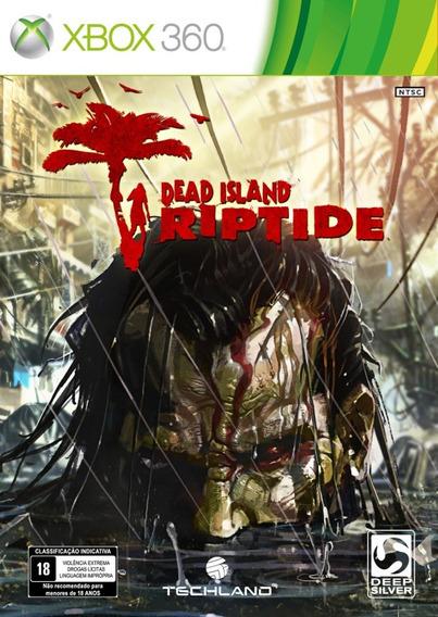 Dead Island Riptide Xbox 360 Midia Fisica Novo Lacrado