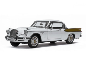 Studebaker Golden Hawk 1957 Sunstar 1:18 Branco Sun-6152
