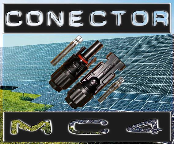 Kit 5 Par Conector Mc4 Painel Fotovoltaico Energia Solar
