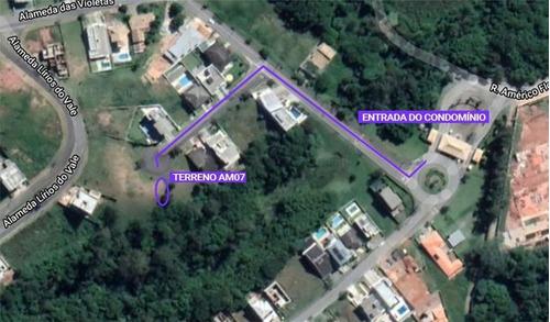 Terreno Em Reserva Vale Verde, Cotia/sp De 0m² À Venda Por R$ 250.000,00 - Te965117
