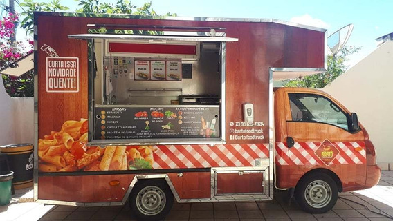Food Truck Hr 2012, Completo E Pronto Para Trabalhar.