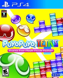 Puyo Puyo Tetris Ps4 Nuevo Sellado Delivery Stock Ya