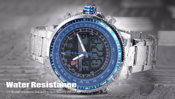 Relógio Pulso - Shark Sport - Original - Winghead - 46mm