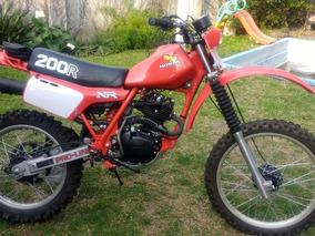 Honda Xr 200 R 1982 Titular