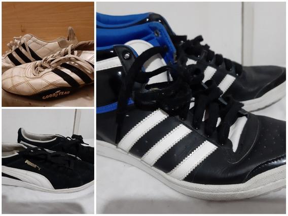 Lote 3 Pares Zapatillas Originales 39 adidas Nike