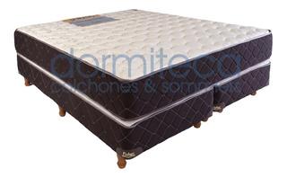 Sommier Y Colchon Alta Densidad 2 Y 1/2 Pl 160x190 - 30kg/m3